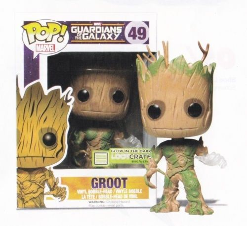 Glow In The Dark Groot Funko POP! - Guardians of the Galaxy - Loot Crate #FUNKO