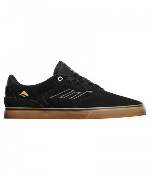 Emerica The Reynolds Low Vulc Black/Gum Shoes