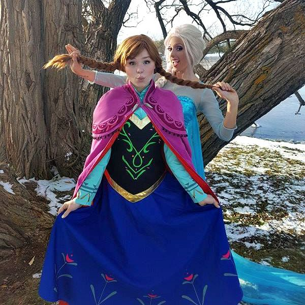 Frozen Cosplay in Ottawa