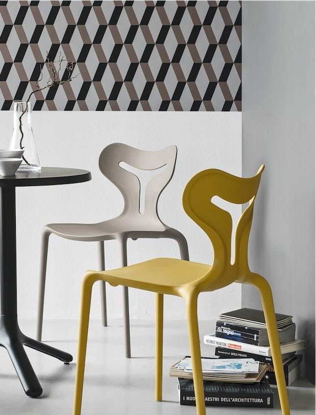 Connubia Calligaris | Area 51 Dining Chairs | Suitable indoors and outdoors.