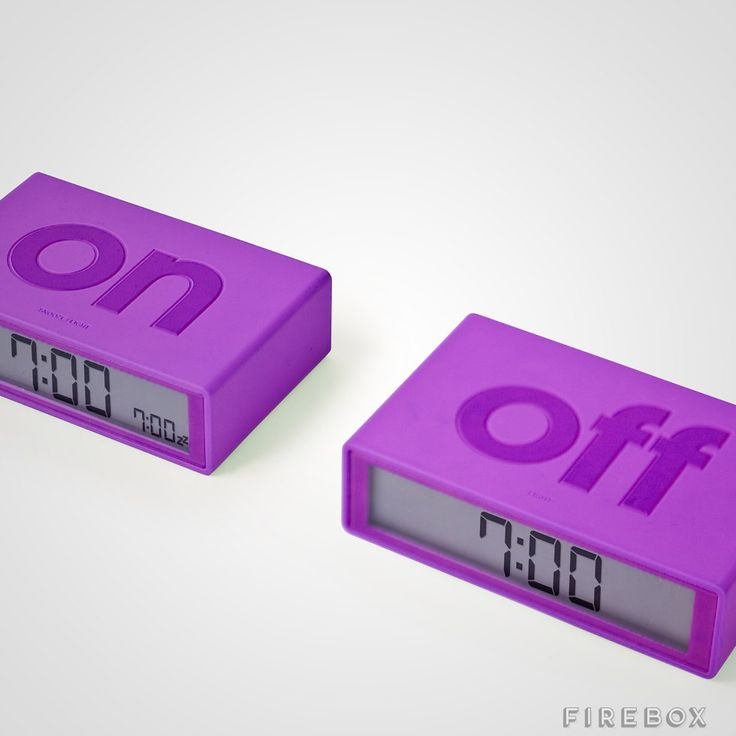 Flip Alarm Clock - buy at Firebox.com