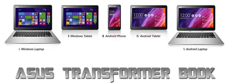 Asus Transformer Book V 5 reasons that it will be a hit 3 in 1 Windows laptop Windows tablet Android smartphone