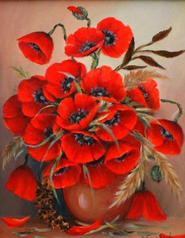 flowers.quenalbertini: Floral Art, Ana Dolorosa