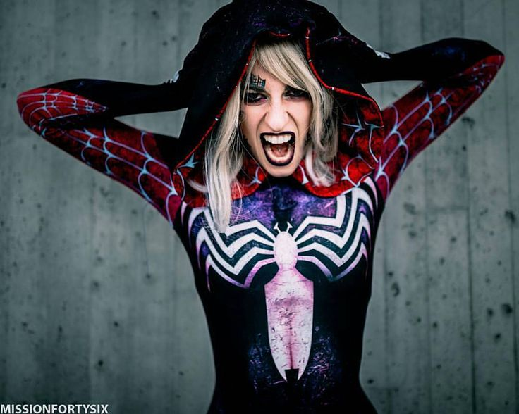 "remember roses thethey are not just pretty but dangerous  from @dancerkayt - ""Suit by @therpcstudio shot by @missionfortysix.  nycc2016 #newyorkcomiccon2016 #rpcstudios #Gwenom #gwenstacey #spiderman #spidergwen #spiderverse #cosplay #girlsofig #cosplaygirls  #MARVEL #marvelcosplay #train #like4like #followforfollow #cosplaymodel #meow #picoftheday #ootd #motd  #fitspo #altgirls #venom #photoshoot #shoot #thespideysociety - #regrann"