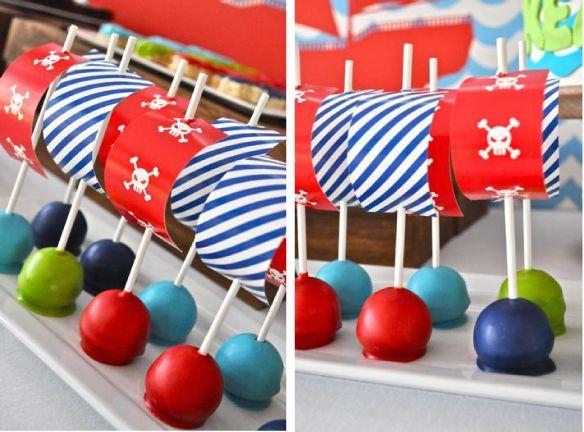 Traktatie tip – Piraten cake pops voor de stoere boys! | Jetjes & Jobjes