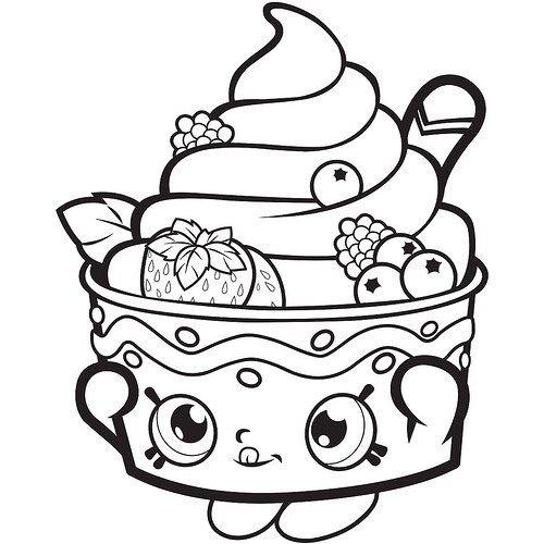 Imágenes y Dibujos de Shopkins para Imprimir y Colorear