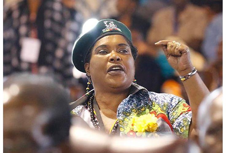 Talking war... Cde Mandi Chimene