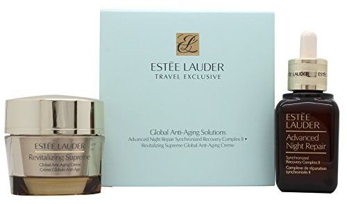 Estee Lauder Gift Set 1.7oz (50ml) Advanced Night Repair Face Serum + 1.7oz (50ml) Revitalizing Supr