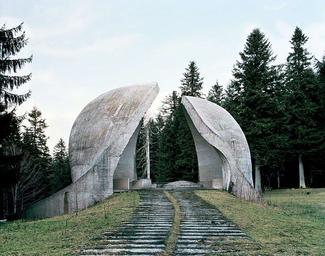 Part of a series of photographs documenting war monuments built in Tito era Yugoslavia. My personal favorite.