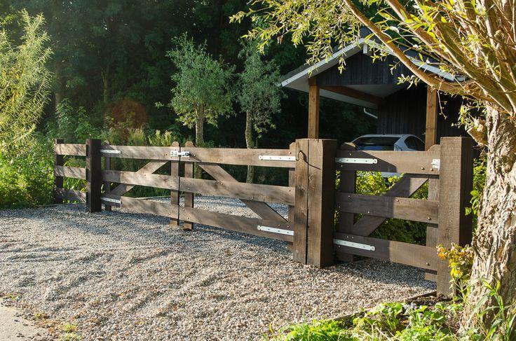 De Kleverkamp - landhekken, houten poorten en toegangspoorten