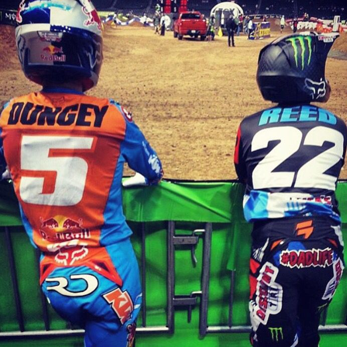 Ryan Dungey & Chad Reed @ Phoenix SuperCross January 2015