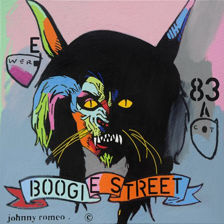 "Johnny  Romeo, Boogie Street 83, Exhibit ""Tribute to MJ's Best Film Clips"", group show, May - August 2014, Australia"