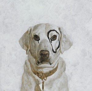 "Andrew Wyeth who would think this dog's look would become iconic with the first ""Spanky and Our Gang"" movies...."