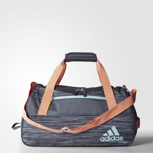 Squad 3 Duffel Bag - Blue - gym duffel adidas