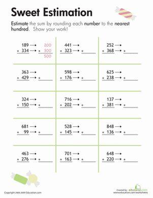 Best 25+ Rounding worksheets ideas on Pinterest | Rounding, Math ...