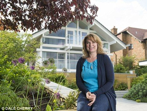Claire Shann with her Huf House in Bucks