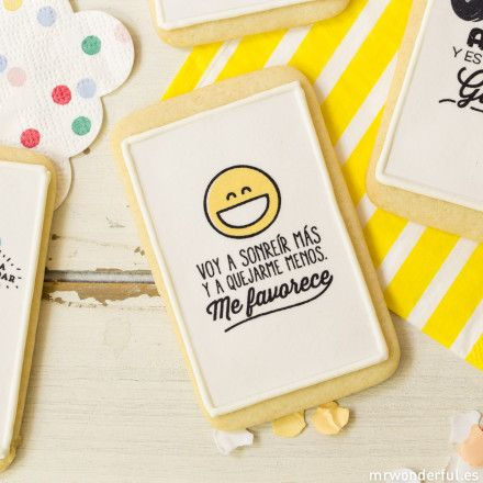 Galletas Mr. Wonderful #funny #cookie #quote #mrwonderful #gift #ideas
