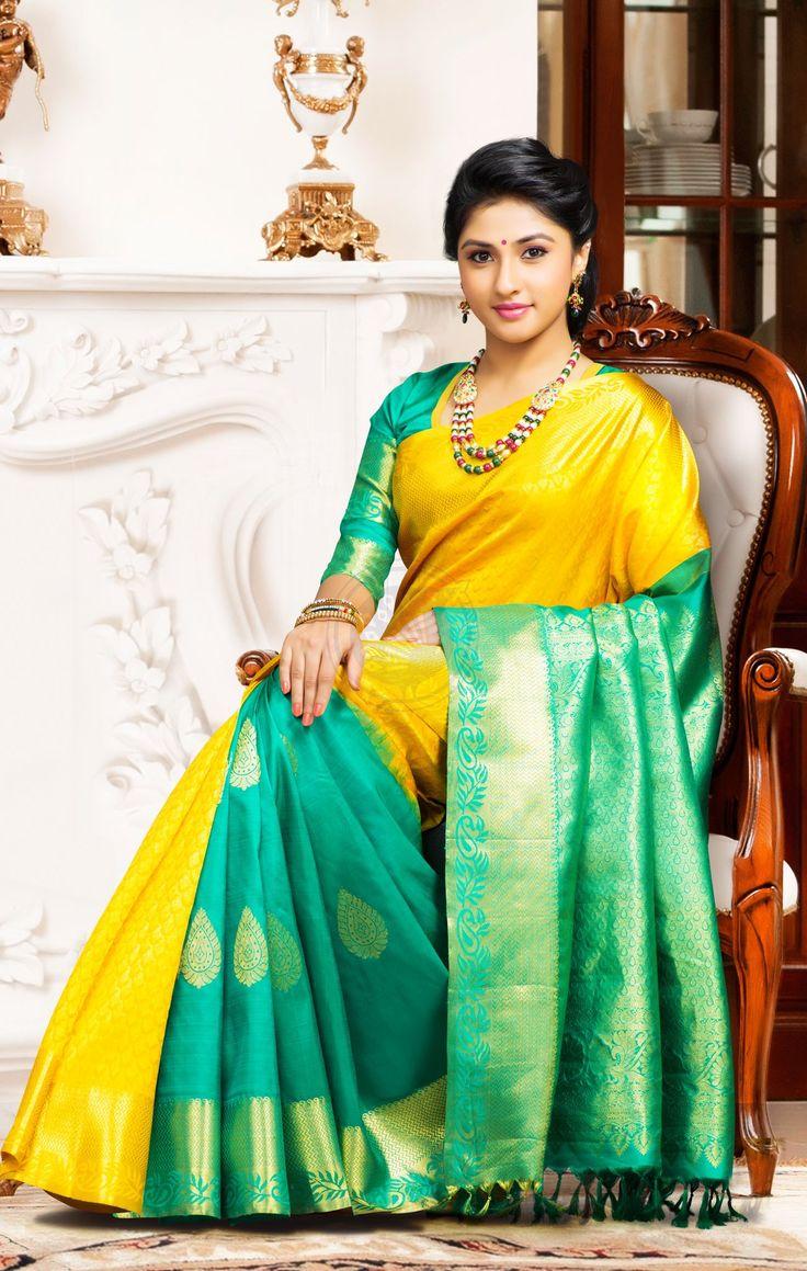 Exclusive Dhola Branded Wedding Silk Saree DBSS4017