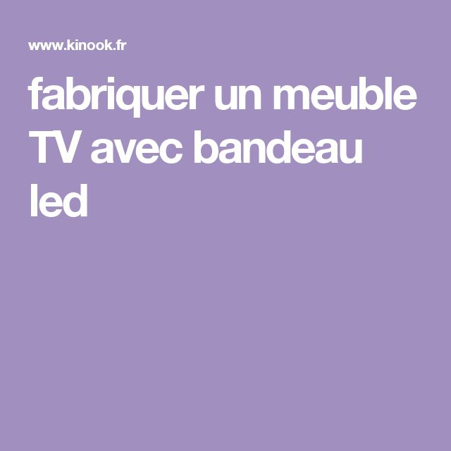 les 25 meilleures id es concernant bandeau led sur pinterest rail tiroir design moderne de. Black Bedroom Furniture Sets. Home Design Ideas