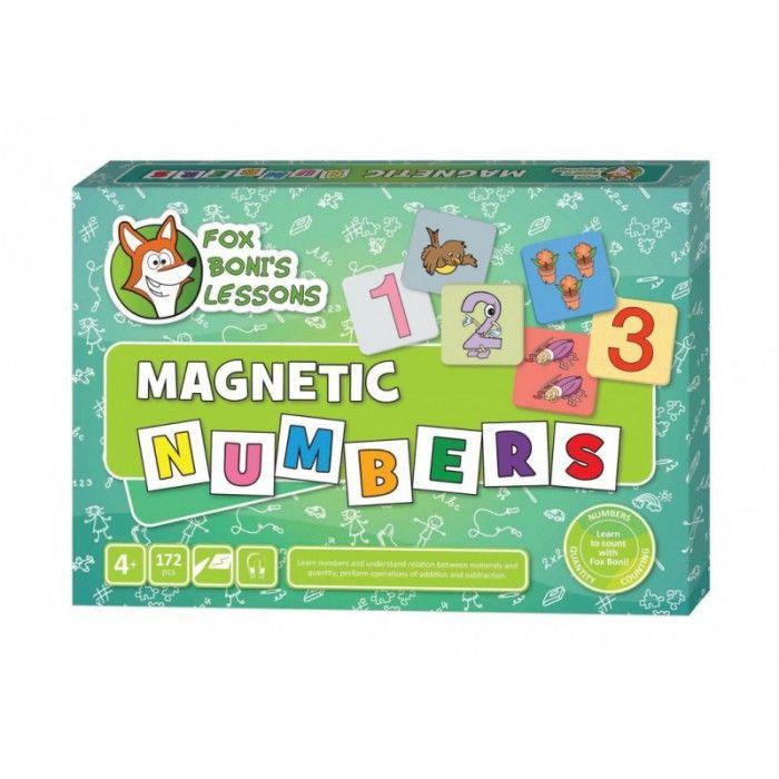 Magnetyczne Cyfry - Lekcje Liska Boni // Magnetic Numbers - Fox Boni's Lessons