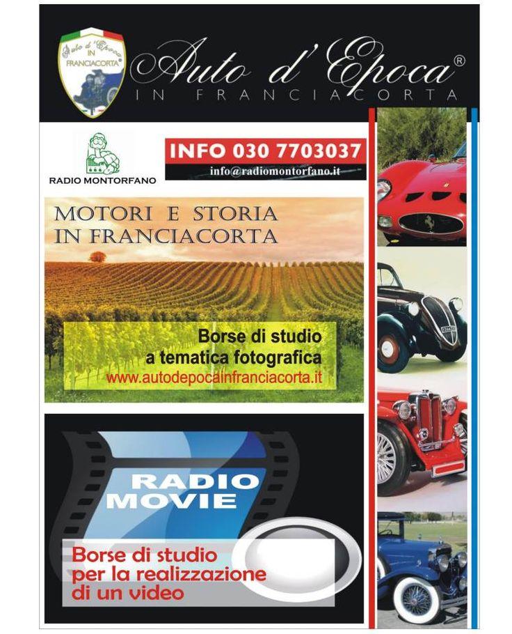 """Borse di studio """"Auto d'Epoca in Franciacorta"""" 2017 - http://www.gussagonews.it/borse-studio-auto-epoca-franciacorta-2017/"""