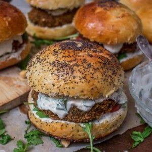 Falafel burger ou burger végétarien qui fait du bien – Cuisine moi un mouton