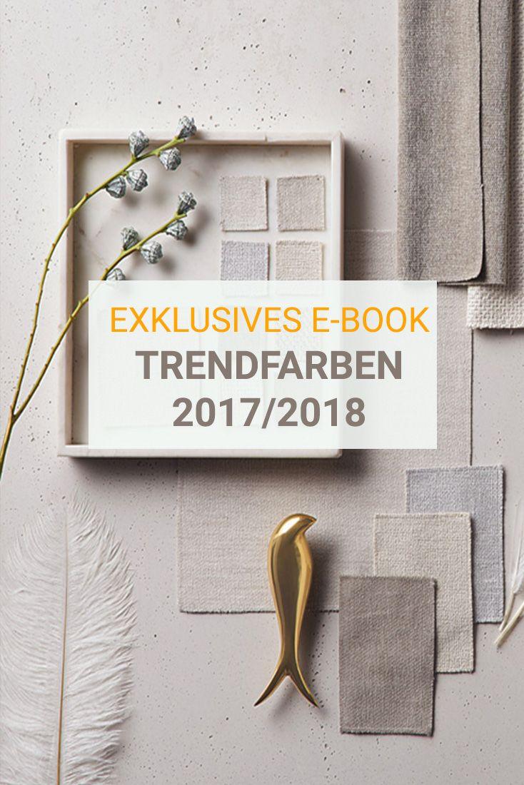 erhalten sie einblicke in die trendfarben 2017 2018 trendfarben im interior pinterest. Black Bedroom Furniture Sets. Home Design Ideas