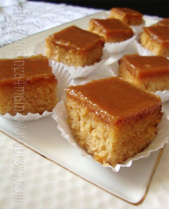Quand mon amie Kaouther du superbe blog «Simply Algerian»,m'a chaudement recommandé ce gâteau, je n'ai pas hésité à le tester     ( ses recettes sont infail…