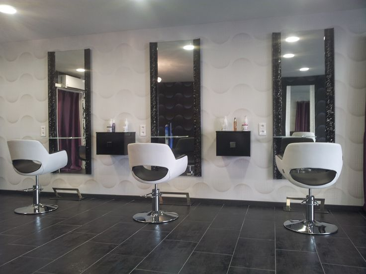 les 25 meilleures id es de la cat gorie salons de coiffure sur pinterest. Black Bedroom Furniture Sets. Home Design Ideas