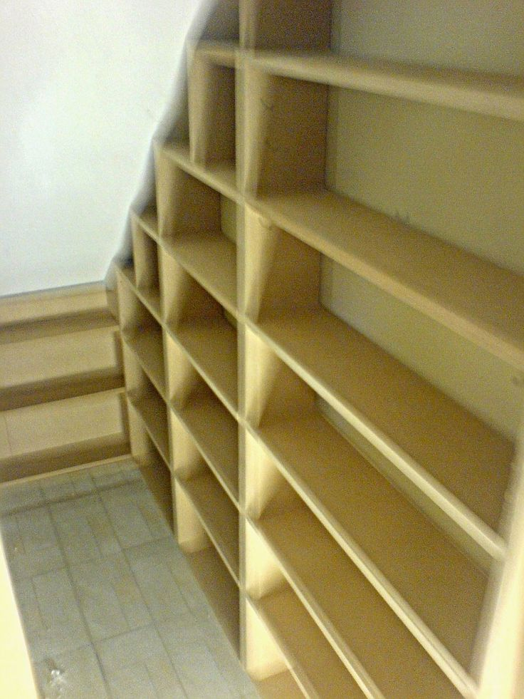 best 20 shelves under stairs ideas on pinterest