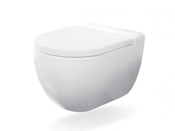 Axa Uno Wall Hung Inwall Toilet Pan