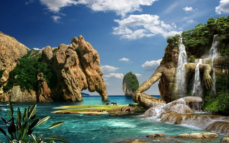 This is one of the most beautiful digital art photography of the world.It describes the pure natural beauty of nature