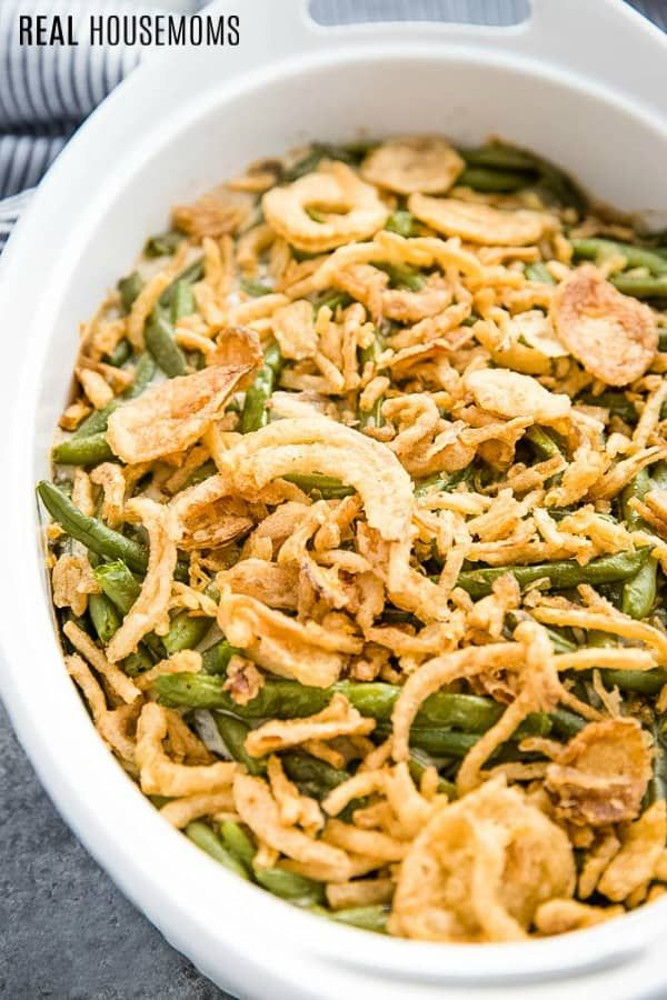 This Is The Best Green Bean Casserole Recipe It S So Creamy And