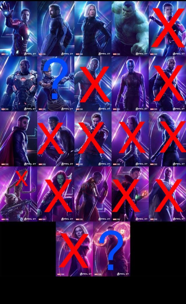 infinity war spoiler - - - the only people who died actually were
