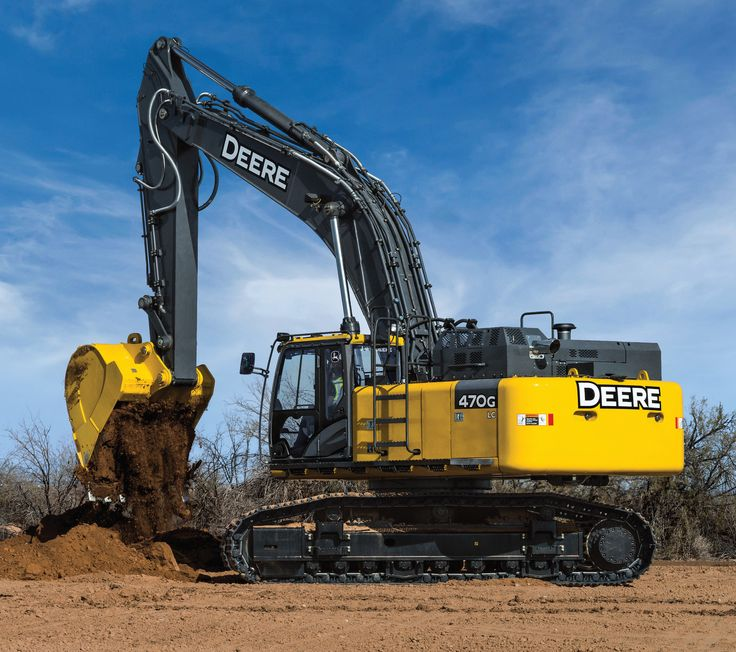 Updated John Deere 470G LC Excavator Primed to Tackle Pipeline, Mass Earth Moving and Road Building Projects!