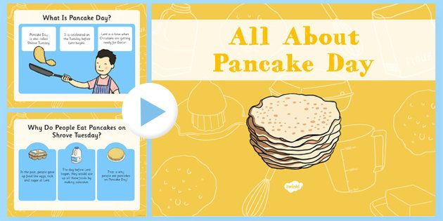 All About Pancake Day Powerpoint - EYFS planning, early years activities, Shrove Tuesday