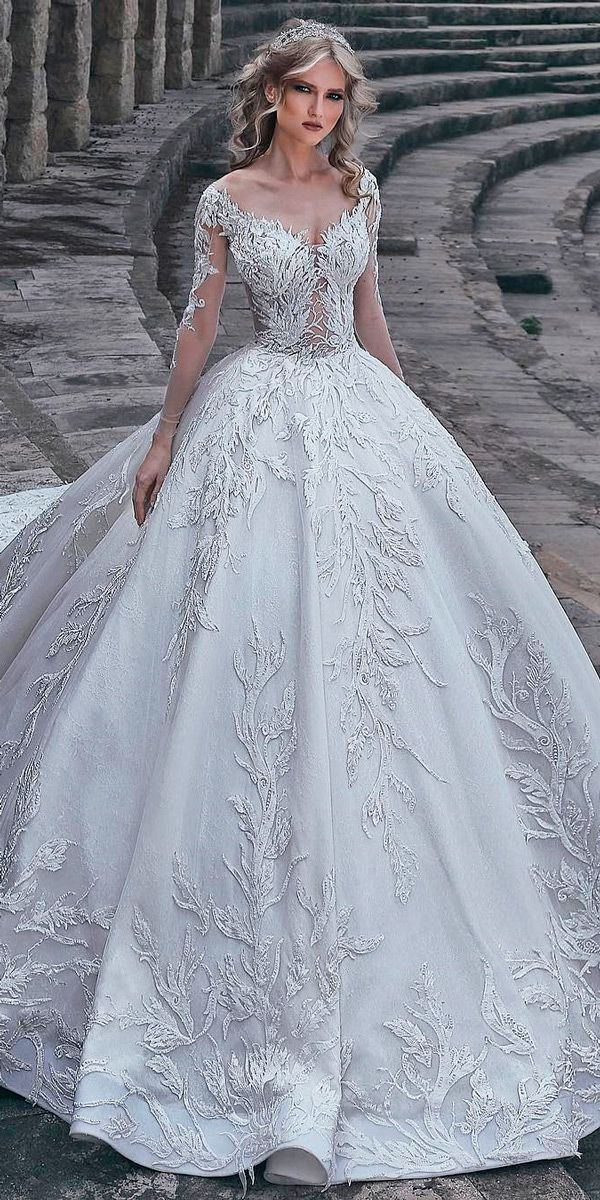 30 Ball Gown Wedding Dresses Fit For A Queen ❤ ball gown wedding dresses princ…