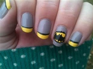 The 25 best batman nail designs ideas on pinterest batman nails batman nail designs bing images prinsesfo Image collections
