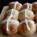 Pull-Apart Hot Cross Buns | Celebrate ~ Easter | Pinterest
