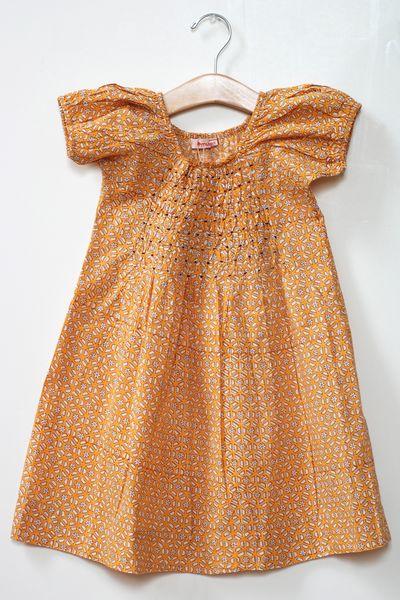 MUNY - smocking-dress