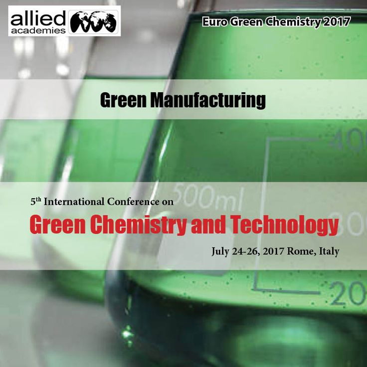 Green Manufacturing #Green manufacturing is a method of manufacturing that reduces waste and pollution.  Green manufacturing goals are achieved through product and their process design. It will provide the congress to present the state-of-the-art technology in green manufacturing and its relevant fields, such as eco-friendly design/manufacturing, improvement of manufacturing efficiency, #Clean Polymerization Methodologies,  energy saving and waste reduction process, using eco-friendly…
