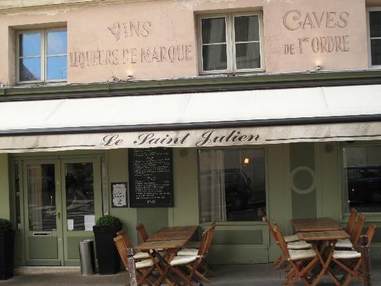 Le Saint Julien restaurant 2012