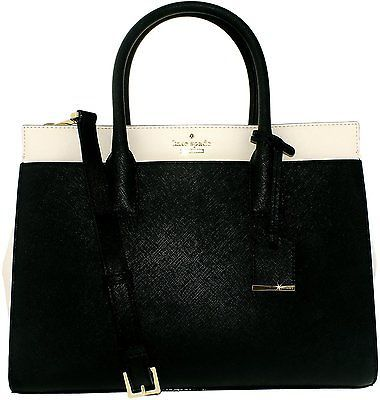 Kate Spade Women's Cameron Street Candace Leather Synthetic Top-Handle Satchel