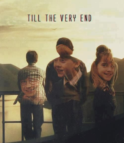 harry, ron and hermione << three of my favorite people ever