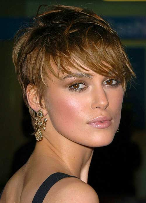 Keira Knightley short cut