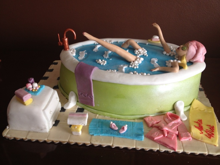 202 best images about Bathroom Cakes on Pinterest ...