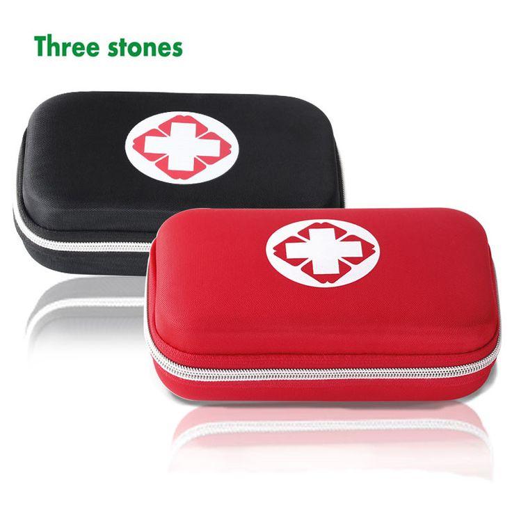 Empty EVA waterproof durable first aid box first aid kit survival drug storage box travel vehicle emergency medical bag kit(China (Mainland))