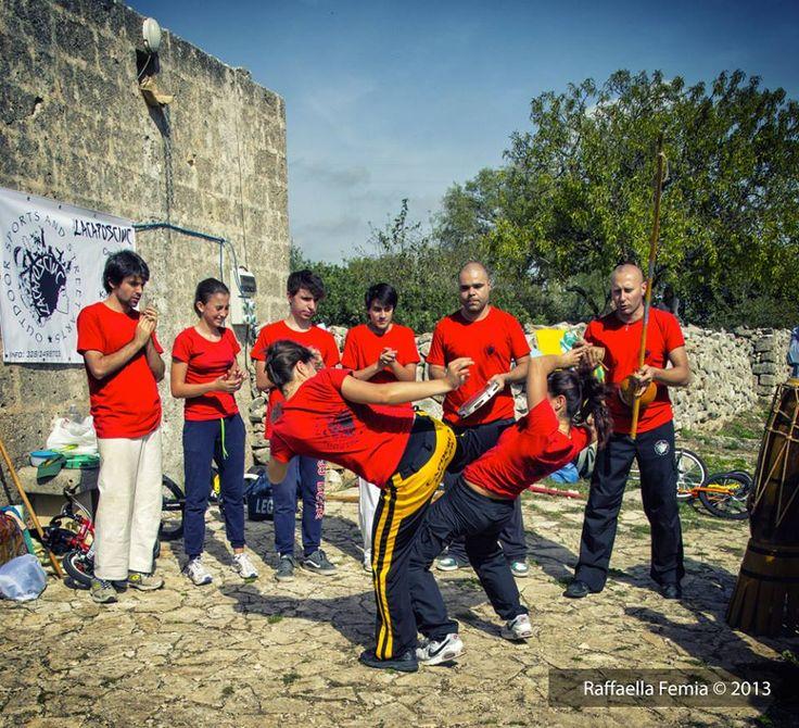 Capoeira murgiana.  © Raffaella Fermia