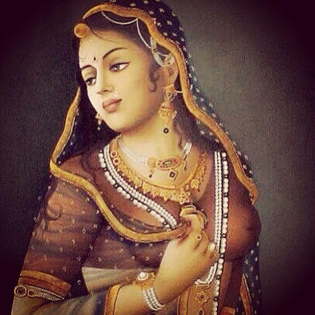 Rajasthani Lady Painting FFOSSA•