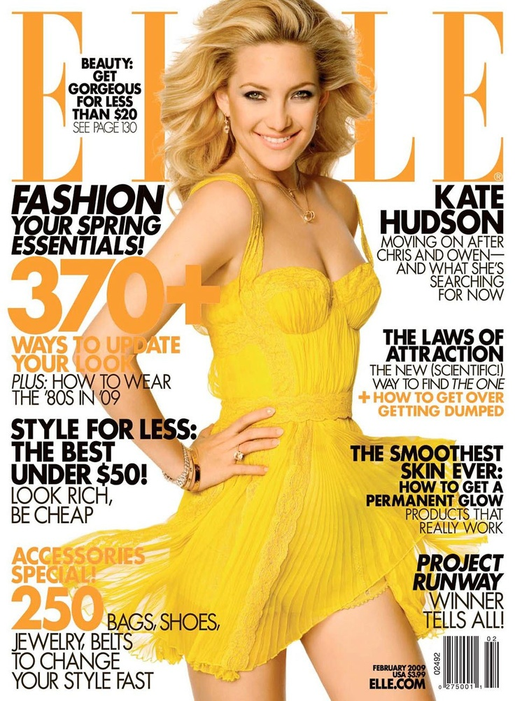 Nicole Kidman on The Cover of Elle Us November